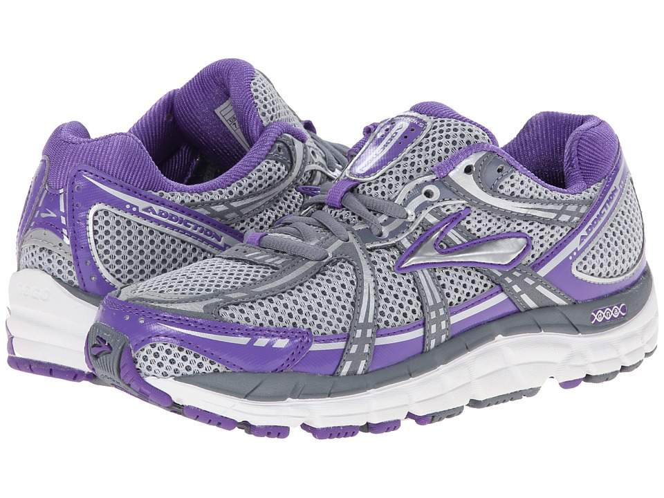 Brooks - Addiction 11 (Electric Purple/Flintstone/Silver) Women's Running Shoes