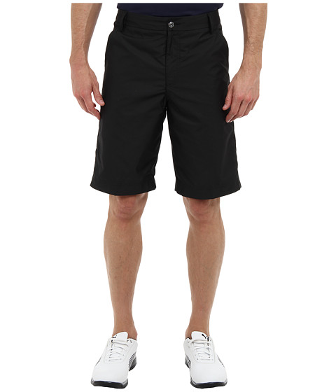 PUMA Golf - Lux Weather Short (Black) Men's Shorts