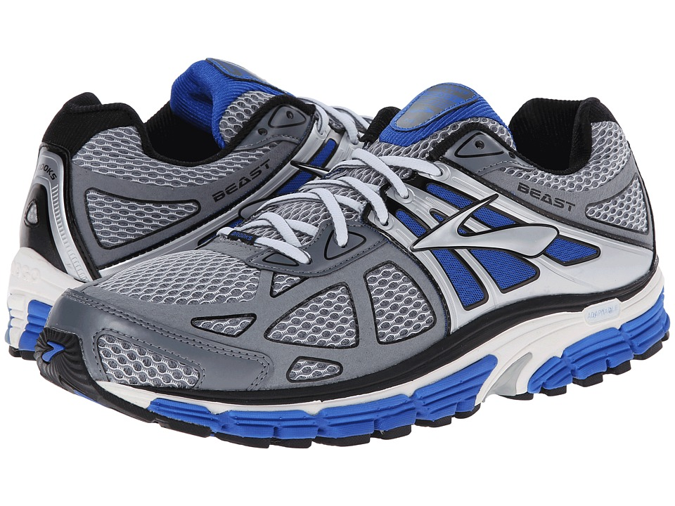 Brooks - Beast 14 (Electric/Pavement/Silver) Men's Running Shoes