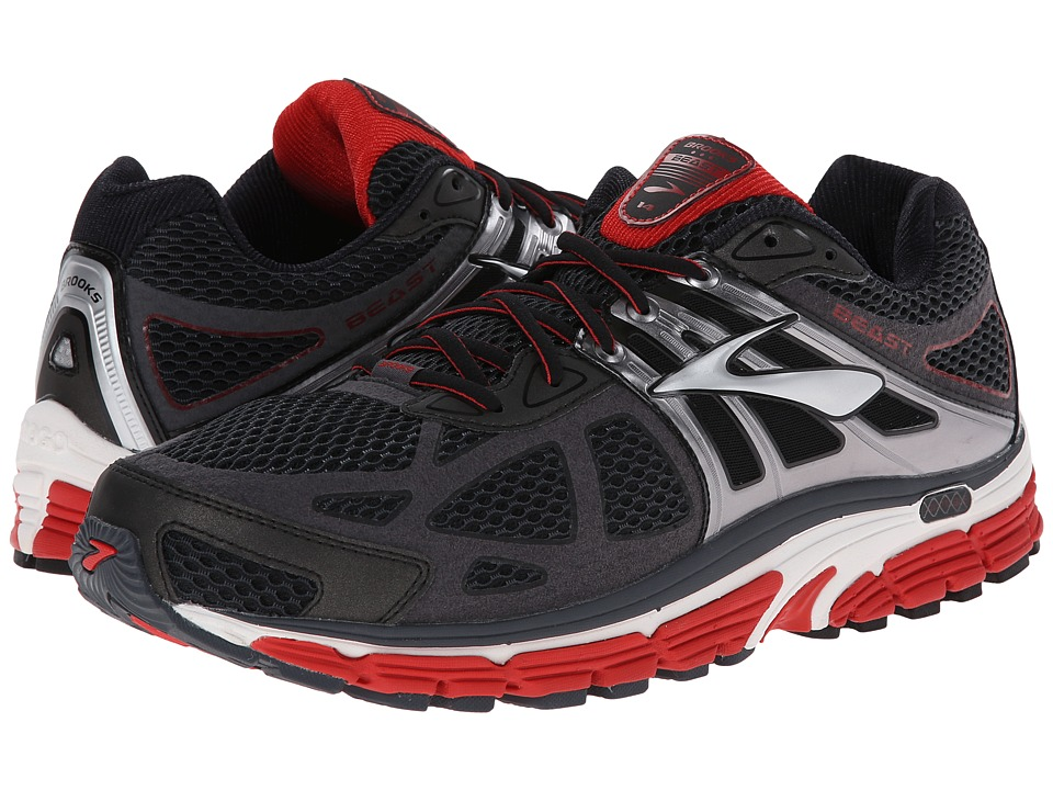 BROOKS Beast 14 (Mars/Anthracite/Silver) Men's Running Shoes