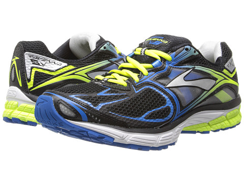 Brooks - Ravenna 5 (Black/Brilliant Blue/Night Life) Men's Running Shoes
