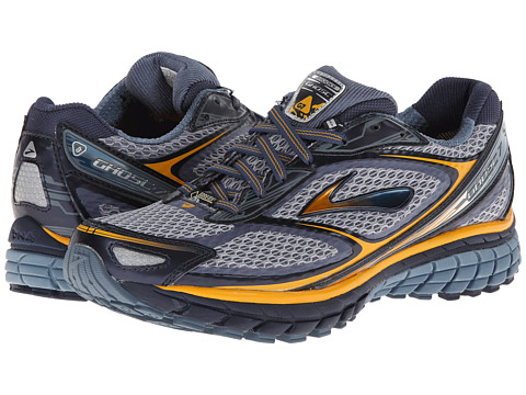 Brooks - Ghost 7 GTX (Midnight/Storm/Mango) Men's Running Shoes