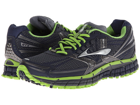 Brooks - Adrenaline ASR 11 GTX (Ombre Blue/Peacoat/Greenery) Men's Running Shoes