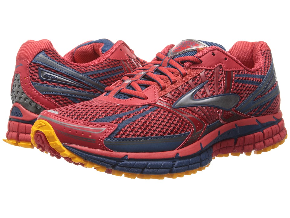 Brooks - Adrenaline ASR 11 (Mars/Poseidon/Mango) Men's Running Shoes