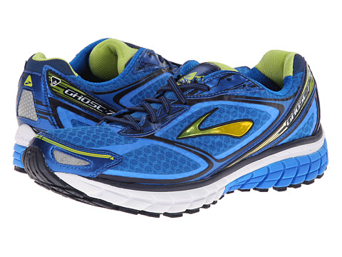 Brooks - Ghost 7 (Electric Blue Lemonade/Lime Punch/Peact Navy) Men