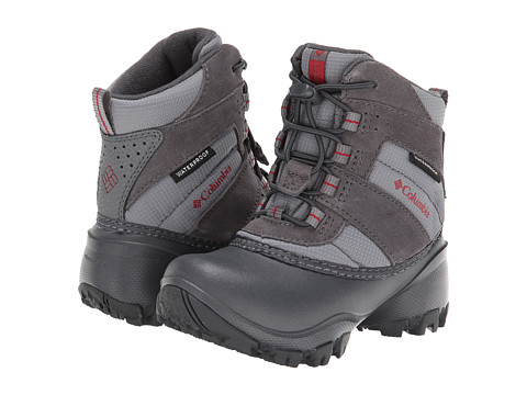 Columbia Kids - Rope Tow III Waterproof (Toddler/Little Kid/Big Kid) (Shale/Chili) Boys Shoes