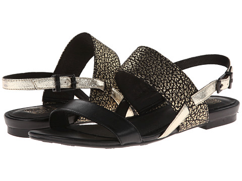 Elliott Lucca - Miah (Black/Gold Metallic) Women