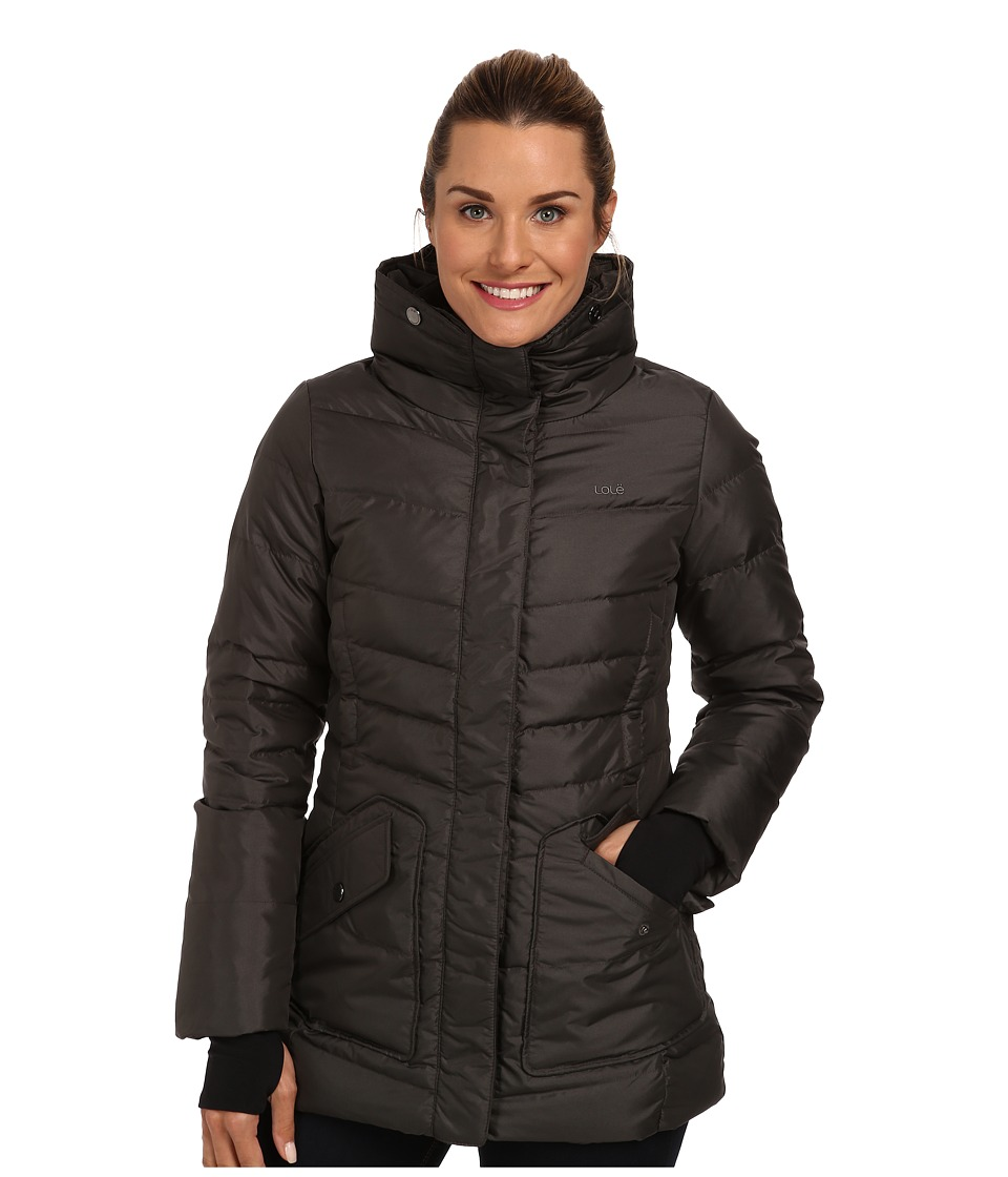 Lole - Nicky 2 Quilted Jacket (Dark Charcoal) Women's Coat