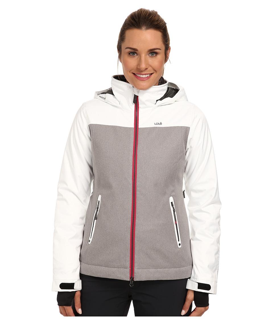 Lole - Lenny Zip Jacket (White) Women's Coat