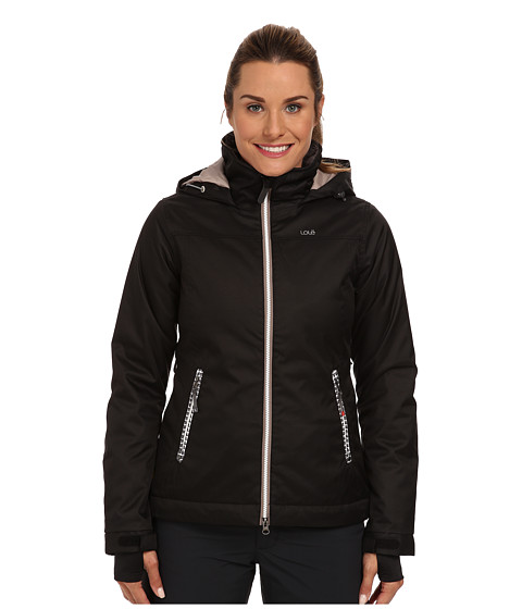 Lole - Lenny Zip Jacket (Black) Women's Coat