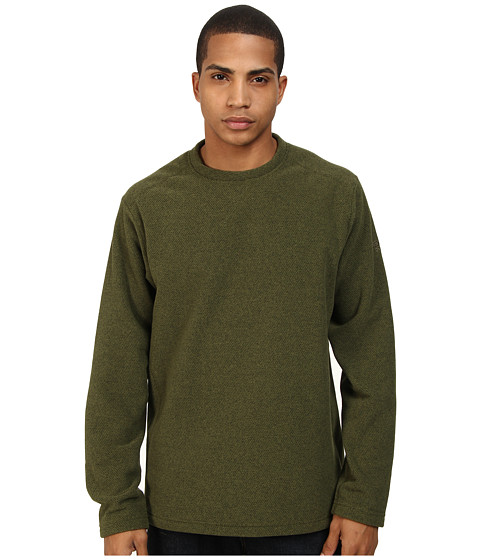 Mountain Hardwear - Toasty Twill Crew (Utility Green) Men