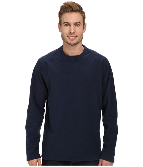 Mountain Hardwear - Toasty Twill Crew (Collegiate Navy) Men