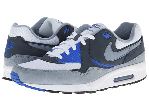 Nike - Air Max Light Essential (White/Hyper Cobalt/Dark Magnet Grey/Magnet Grey) Men's Shoes
