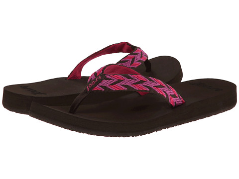 Reef - Mid Seas (Brown/Pink) Women's Sandals