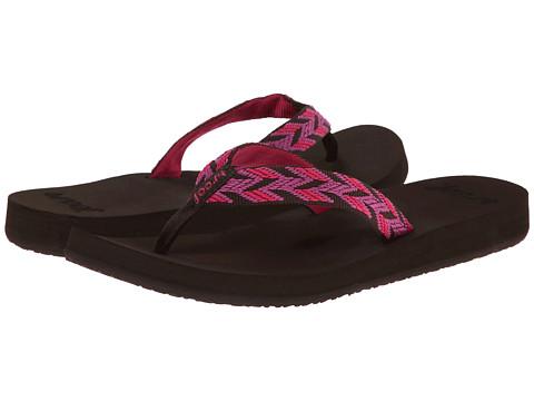 Reef - Mid Seas (Brown/Pink) Women's Sandals