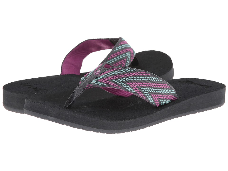 Reef - Sandy Love (Grey/Pink/Aqua) Women's Sandals
