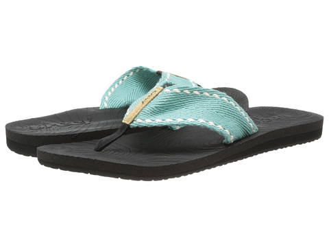 Reef - Zen Wonder (Black/Aqua) Women's Sandals