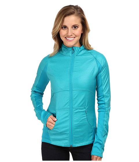 Roxy Outdoor - Breakline Jacket (Aquamarine) Women's Coat