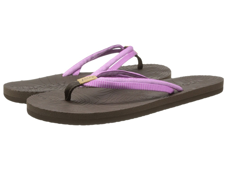Reef - Double Zen (Brown/Purple) Women's Sandals