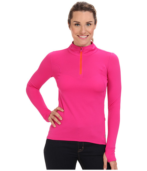 Roxy Outdoor - Keep Moving L/S Top (Bright Berry) Women