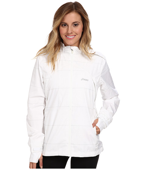 ASICS - Storm Shelter Jacket (White) Women's Coat