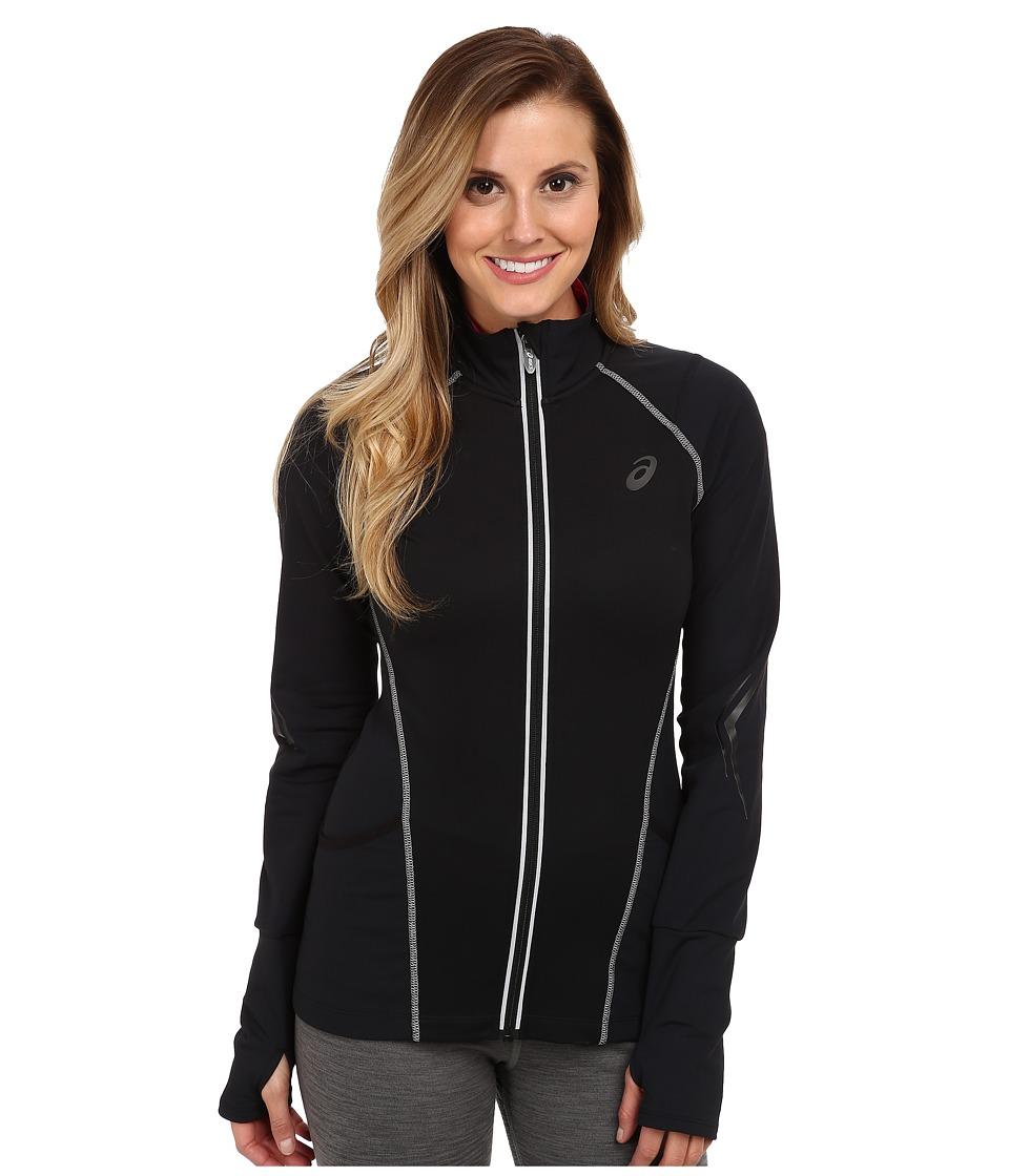 ASICS - Lite-Show Jacket (Black) Women's Coat