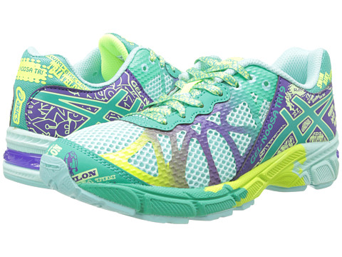 ASICS Kids - Gel-Noosa Tri 9 GS (Little Kid/Big Kid) (Ice Blue/Emerald/Purple) Girls Shoes