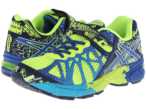 ASICS Kids - Gel-Noosa Tri 9 PS (Toddler/Little Kid) (Flash Yellow/Royal/Navy) Boys Shoes