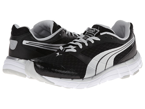 PUMA - Poseidon (Black/Puma Silver) Women's Shoes