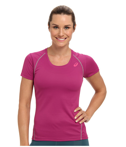 ASICS - Lite-Show Favorite Short Sleeve (Wild Aster) Women's T Shirt