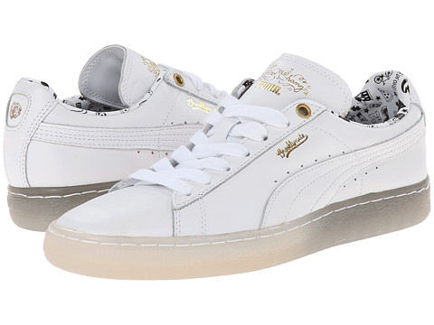PUMA - Basket Classic XS Chang (White) Women's Shoes
