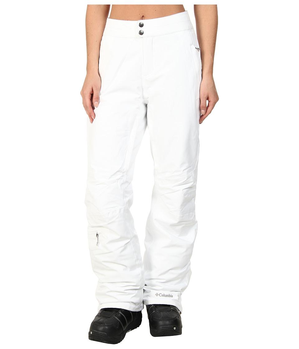 Columbia - Veloca Vixen Pant (White) Women's Outerwear