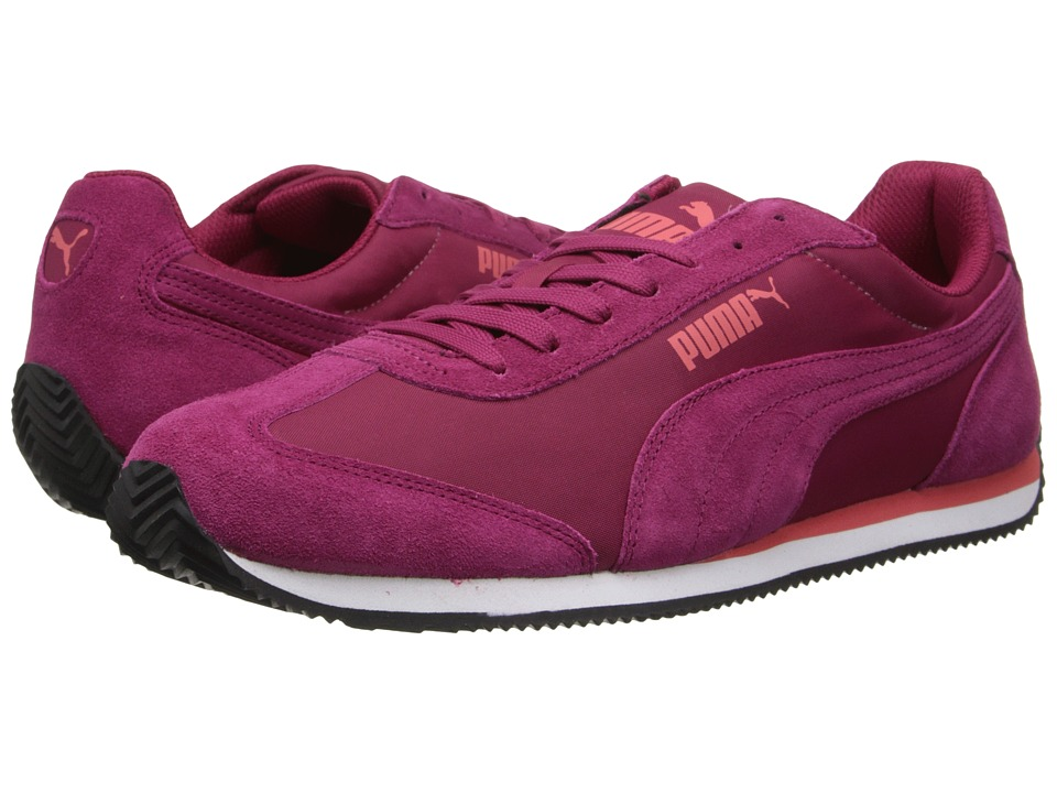 PUMA - Rio Speed Nylon (Cerise/White) Shoes