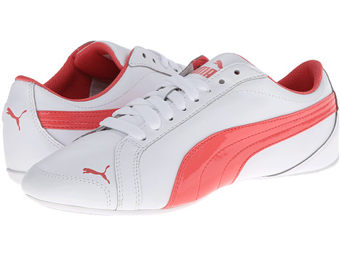PUMA - Janine Dance (White/Dubarry) Women