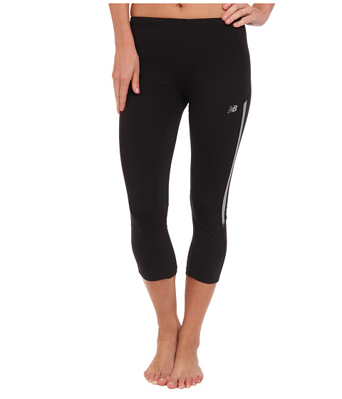 New Balance - Impact Capri (Black) Women
