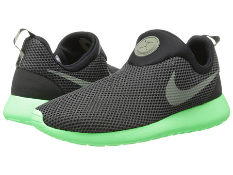 ff7a35d184fa ... italy upc 091209351116 product image for nike roshe run slip on black poison  green 7a0f9 f2d3d