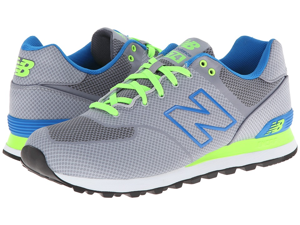 New Balance Classics - ML574 - Elite Edition Collection (Light Grey) Men's Shoes