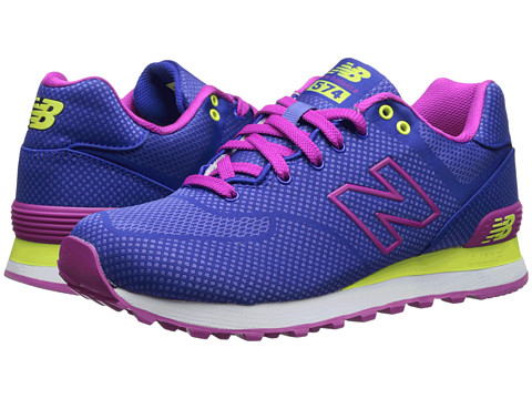 New Balance Classics - WL574 (Purple/Pink) Women's Lace up casual Shoes
