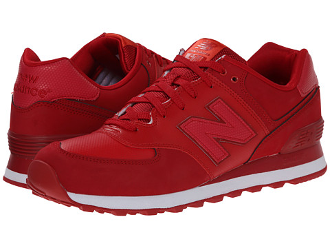 New Balance - ML574 - Stealth (Red) Men