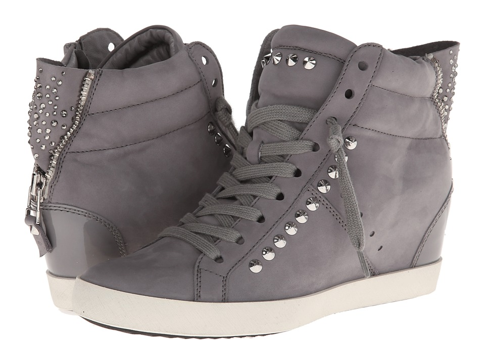 Kennel & Schmenger - High Top With Some Studs (Sasso in Washed Nubuk Komb) Women's Shoes