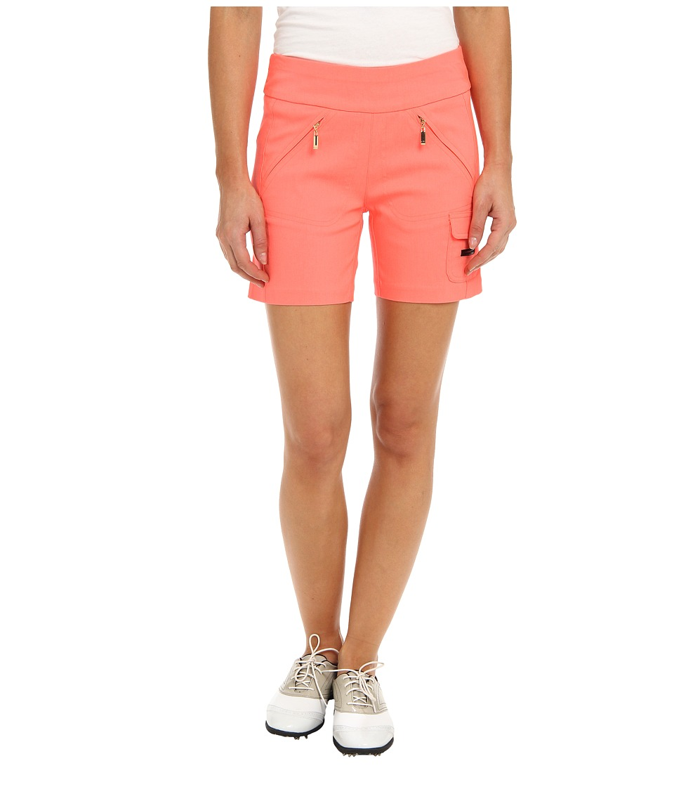 Jamie Sadock - Skinnylicious 15 in. Short with Control Top Mesh Panel (Hokie Pokie) Women