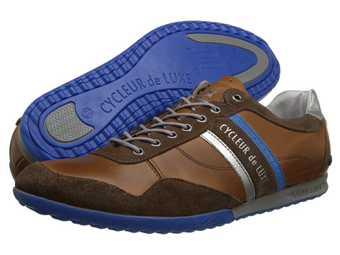 Cycleur de Luxe - Crash (Cognac/Electric Blue) Men's Shoes