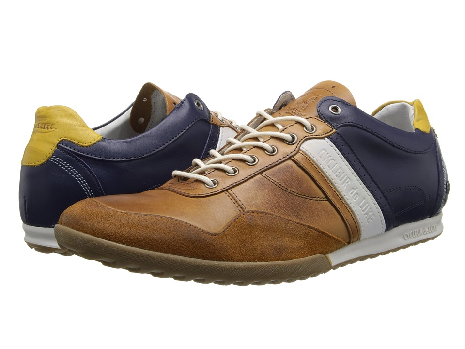 Cycleur de Luxe - Crash (Camel/Navy) Men's Shoes
