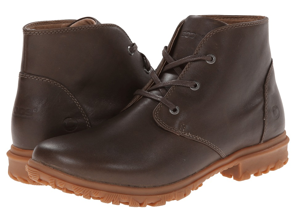 Bogs - Pearl Chukka (Chocolate) Women's Work Boots