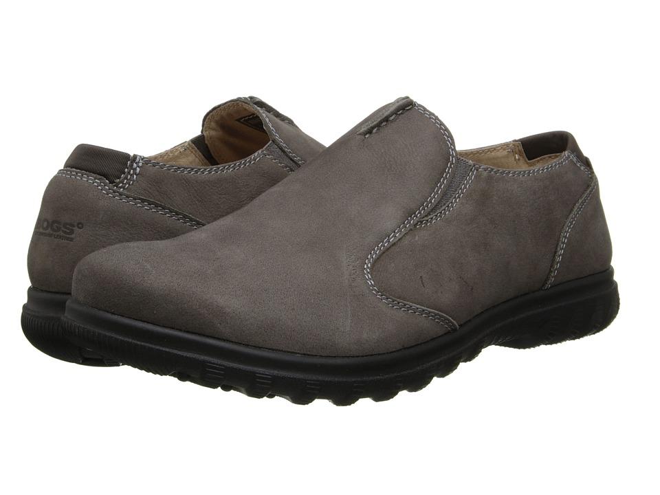 Bogs - Eugene Slip On (Pewter) Men's Slip on Shoes