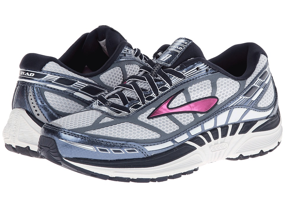 Brooks Dyad 8 (Midnight/Storm/Fuchsia) Women