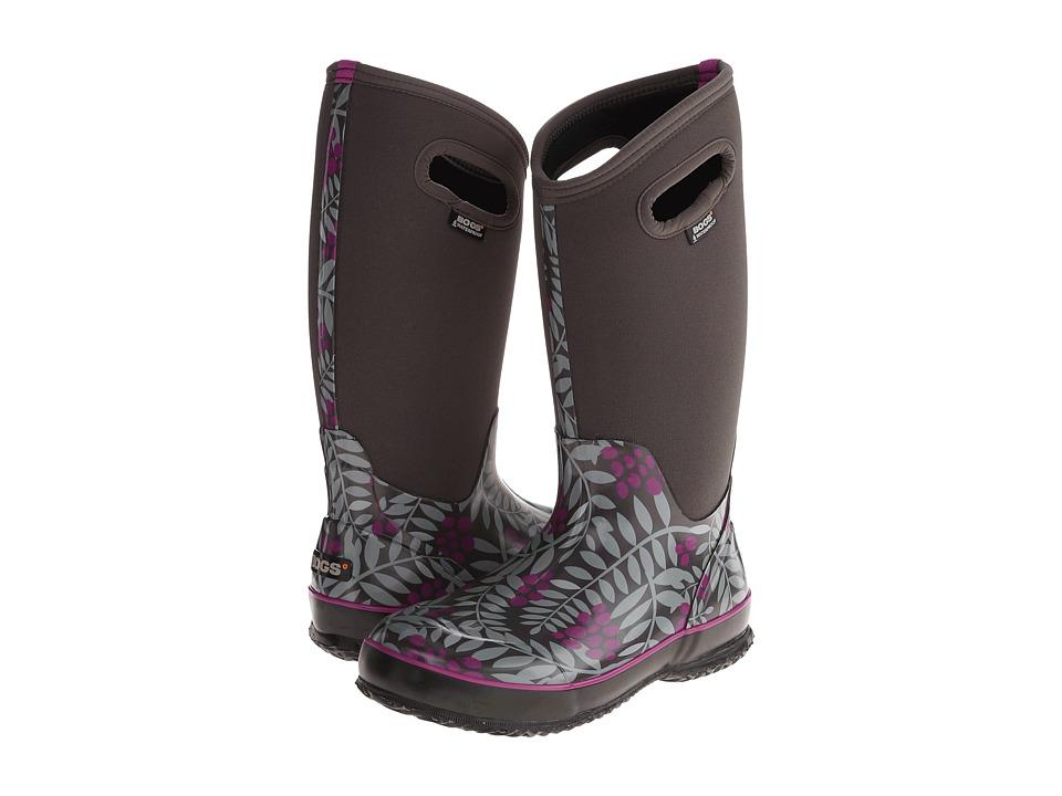 Bogs - Winterberry Classic (Gray Multi) Women's Waterproof Boots