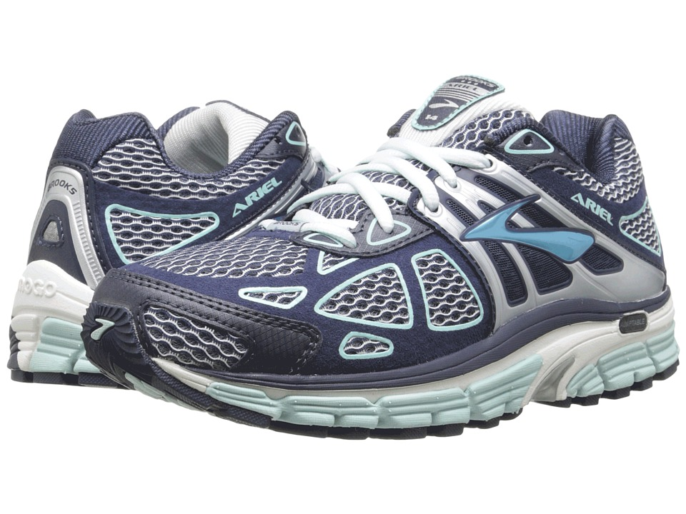 Brooks - Ariel 14 (Breeze/Midnight/Silver) Women's Running Shoes