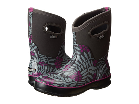 Bogs - Winterberry Mid Classic (Gray Multi) Women's Waterproof Boots