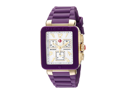 Michele - Park Jelly Bean Purple (Purple) Chronograph Watches